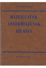 Háziállatok anatómiájának atlasza (dedikált) - Dr. Kovács Gyula - Régikönyvek