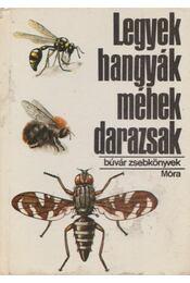 Legyek, hangyák, méhek, darazsak - Dr. Móczár László - Régikönyvek