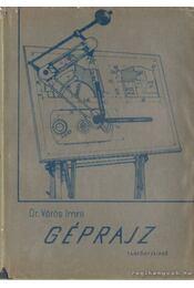 Géprajz - Dr. Vörös Imre - Régikönyvek