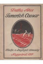Ismerlek Caesar - Dutka Ákos - Régikönyvek