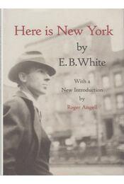 Here is New York - E. B. White - Régikönyvek