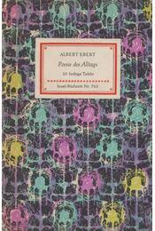 Poesie des Alltags - Ebert, Albert - Régikönyvek