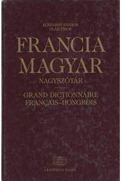 Francia-Magyar nagyszótár - Eckhardt Sándor, Oláh Tibor - Régikönyvek