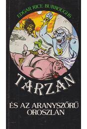 Tarzan és az aranyszőrű oroszlán - Edgar Rice Burroughs - Régikönyvek