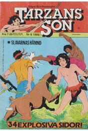 Tarzans Son 1986. Nr 6 - Edgar Rice Burroughs - Régikönyvek