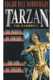 The Beasts of Tarzan/The Son of Tarzan - Edgar Rice Burroughs - Régikönyvek