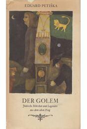 Der Golem - Eduard Petiska - Régikönyvek