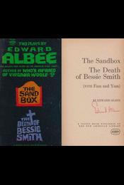 The Sandbox / The Death of Bessie Smith / Fam and Yam (aláírt) - Edward Albee - Régikönyvek