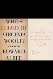 Who's Afraid of Virginia Woolf? (dedikált) - Edward Albee - Régikönyvek