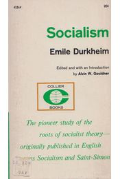 Socialism - Emile Durkheim - Régikönyvek