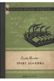 Ipari algebra - Erdős Nándor - Régikönyvek