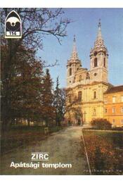 Zirc - Apátsági templom - Éri István - Régikönyvek