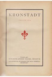 Kronstadt. Erster Teil. - Erich Jekelius (herausg.) - Régikönyvek