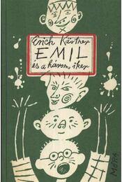 Emil és a három iker - Erich Kästner - Régikönyvek