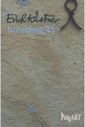 Notabene 45 - Erich Kästner - Régikönyvek