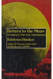 Return to the Stars - Erich von Däniken - Régikönyvek