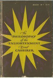 The Philosophy of Enlightment - Ernst Cassirer - Régikönyvek