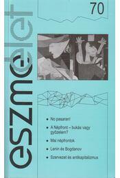 Eszmélet 70 - Régikönyvek
