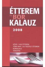 Étterem- és borkalauz 2008 - Régikönyvek