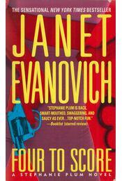 Four to Score - EVANOVICH,JANET - Régikönyvek
