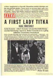 A First Lady titka - Evans, Peter - Régikönyvek