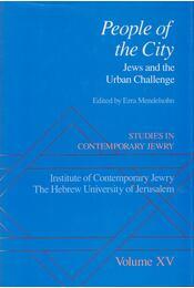 People of the City - Ezra Mendelsohn - Régikönyvek