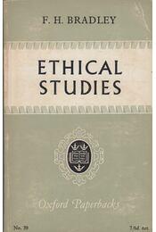 Ethical Studies - F. H. Bradley - Régikönyvek