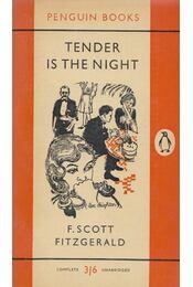 Tender is the Night - F. Scott Fitzgerald - Régikönyvek
