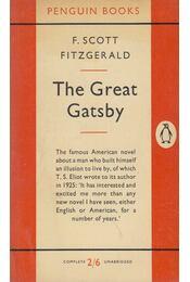 The Great Gatsby - F. Scott Fitzgerald - Régikönyvek