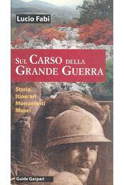 Sul Carso della Grande Guerra - FABI, LUCIO - Régikönyvek