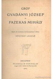 Gróf Gvadányi József és Fazekas Mihály - Fazekas Mihály, Gvadányi József, Négyesy László - Régikönyvek