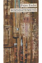 Rozsdatemető - Fejes Endre - Régikönyvek