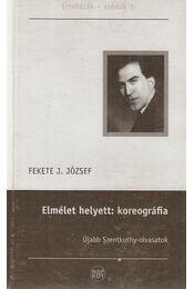 Elmélet helyett: koreográfia - Fekete J. József - Régikönyvek