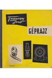 Géprajz - Ferenczy Jenő - Régikönyvek