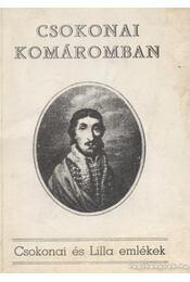 Csokonai Komáromban - Ferenczy Miklós - Régikönyvek