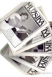 Muzsika 2000. 43. évfolyam (hiányos) - Feuer Mária - Régikönyvek