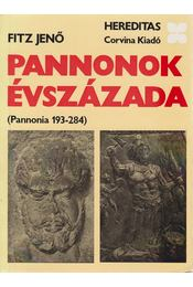 Pannonok évszázada - Fitz Jenő - Régikönyvek