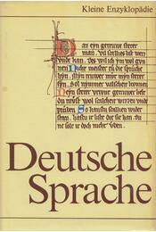 Kleine Enzyklopädie Deutsche Sprache - Fleischer, Wolfgang, Hartung, Wolfdietrich, Schildt, Joachim, Suchsland, Peter (szerk.), Stahl, Ingrid - Régikönyvek