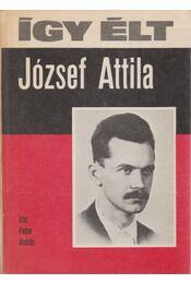 Így élt József Attila - Fodor András - Régikönyvek