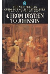From Dryden to Johnson - FORD, BORIS - Régikönyvek