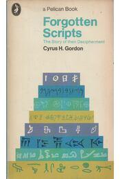 Forgotten Scripts - Régikönyvek