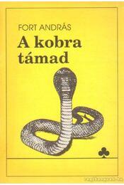 A kobra támad - Fort András - Régikönyvek