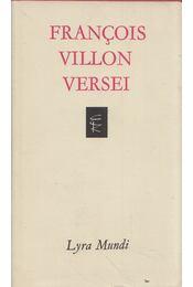 Francois Villon versei - Francois Villon - Régikönyvek