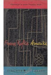 Amerika - Franz Kafka - Régikönyvek