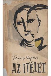 Az itélet - Franz Kafka - Régikönyvek