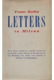 Letters to Milena - Franz Kafka - Régikönyvek