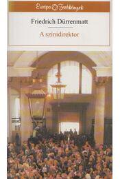 A színidirektor - Friedrich Dürrenmatt - Régikönyvek