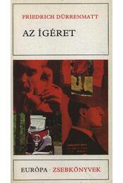 Az ígéret - Friedrich Dürrenmatt - Régikönyvek