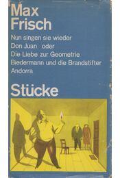 Stücke - Frisch, Max - Régikönyvek