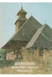 Szentendre - Szabadtéri Néprajzi Múzeum II. - Füzes Endre - Régikönyvek